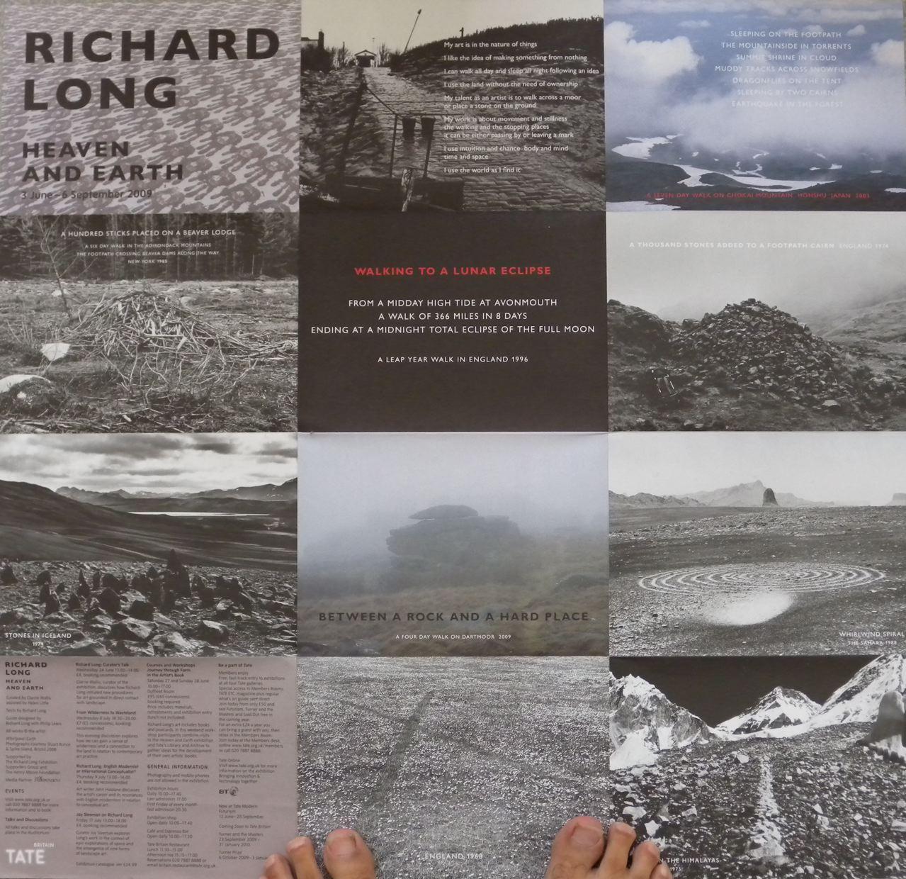 """Richard Long, """"Heaven and Earth"""""""