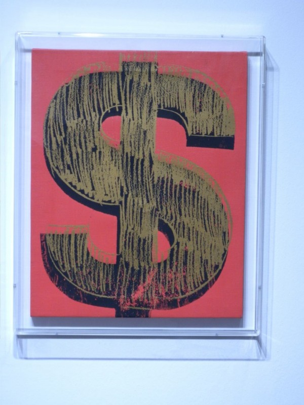 "Andy Warhol, ""Dollar Sign"" 1981"