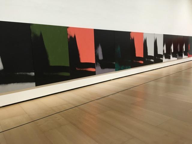 Warhol, les choses ennuyeuses