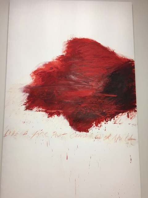 Cy Twombly, un héritage abstrait made in USA ou pas