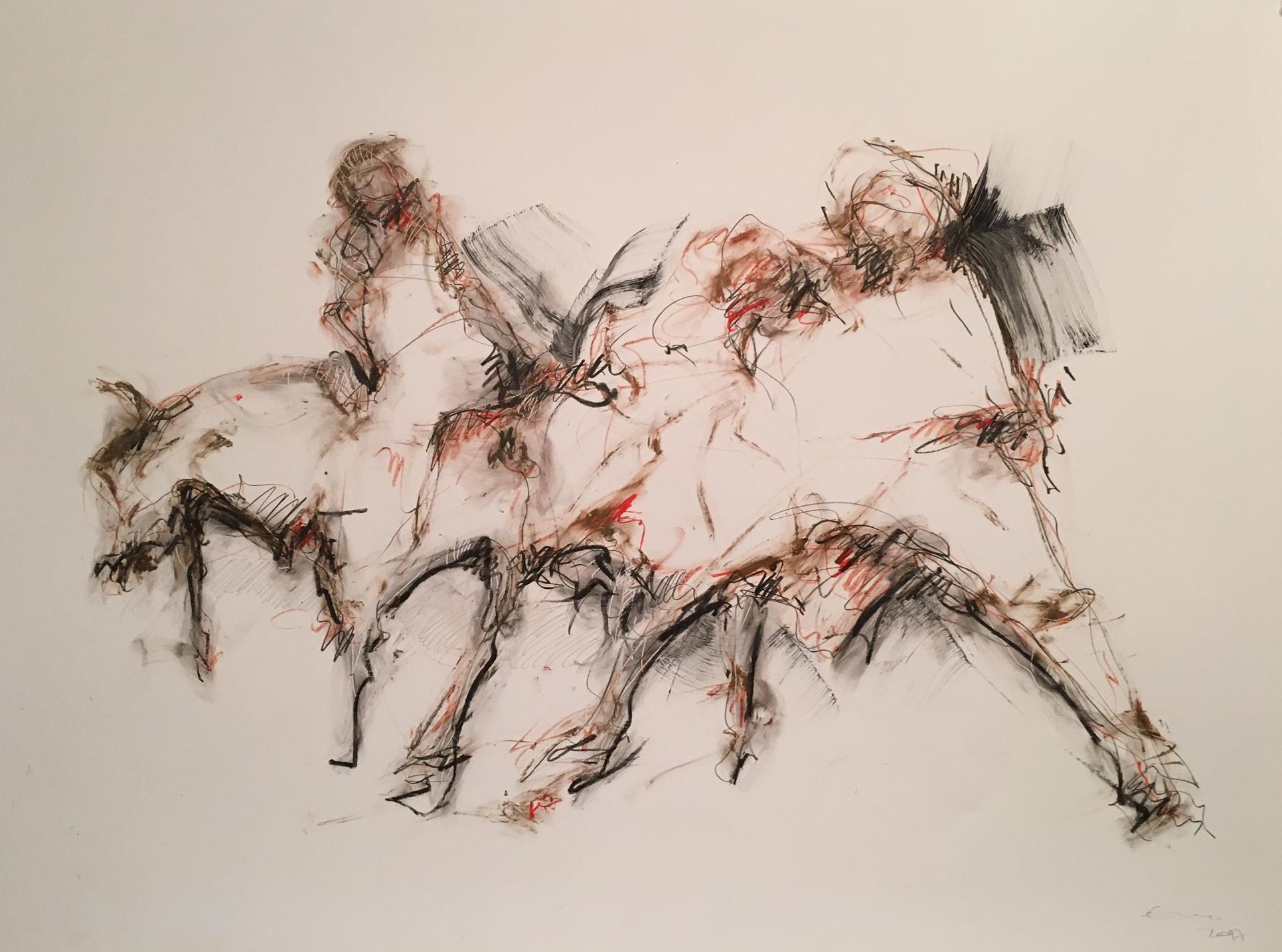 Edson Castro, les figures de l'ombre