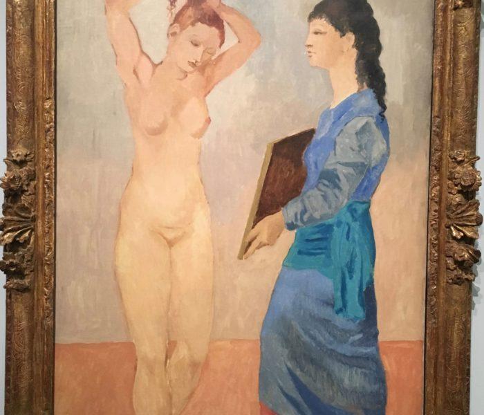 Bleu et Rose, Picasso